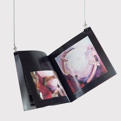 Brochure voor kunstenaar WIjngaard door Funck