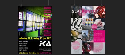 flyers door ontwerpbureau funck
