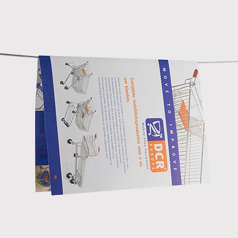DCR Flyer door ontwerpbureau FUNck